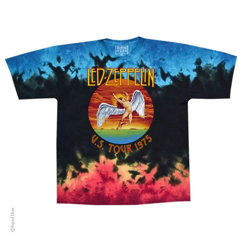 ed0b5355 Led Zeppelin Icarus 1975 Tie Dye T Shirt – Have to Have It Co