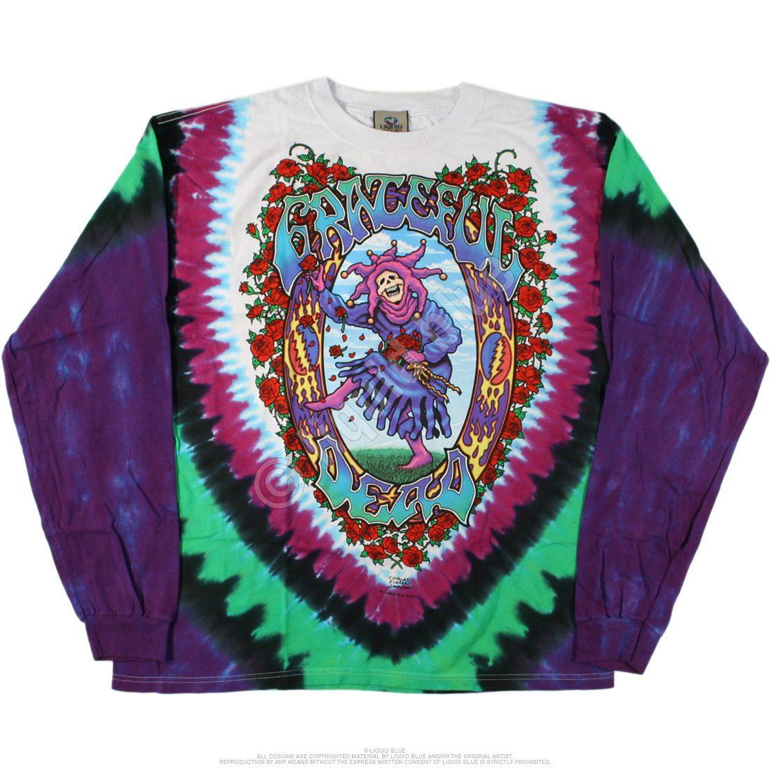 Grateful Dead Summer Tour Bus Tie Dye T Shirt – Have to Have It Co