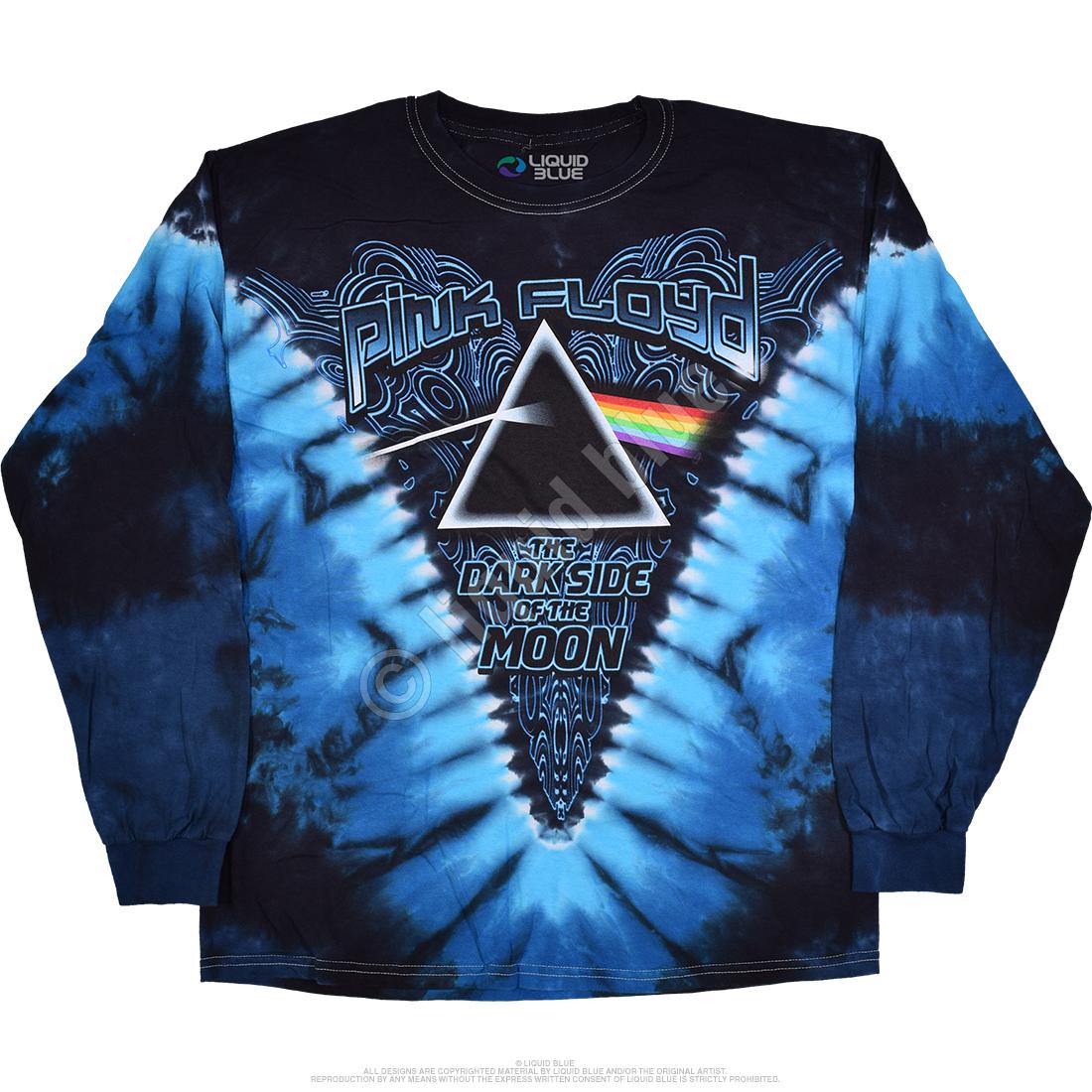 Pink Floyd Dark Side of the Moon Long Sleeve Tie Dye T Shirt – Have ... 4636c52dd
