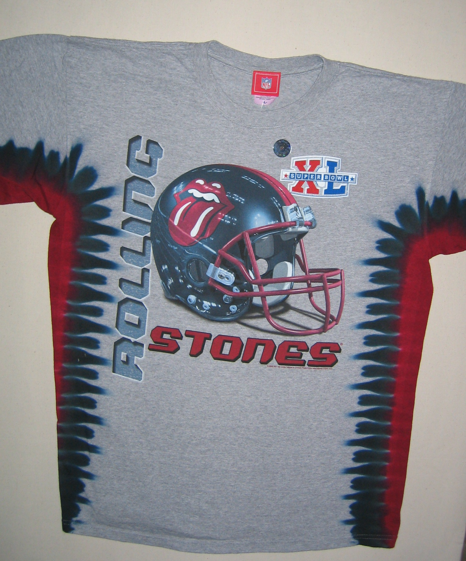 Rolling Stones Super Bowl Xl Tie Dye T Shirt Have To