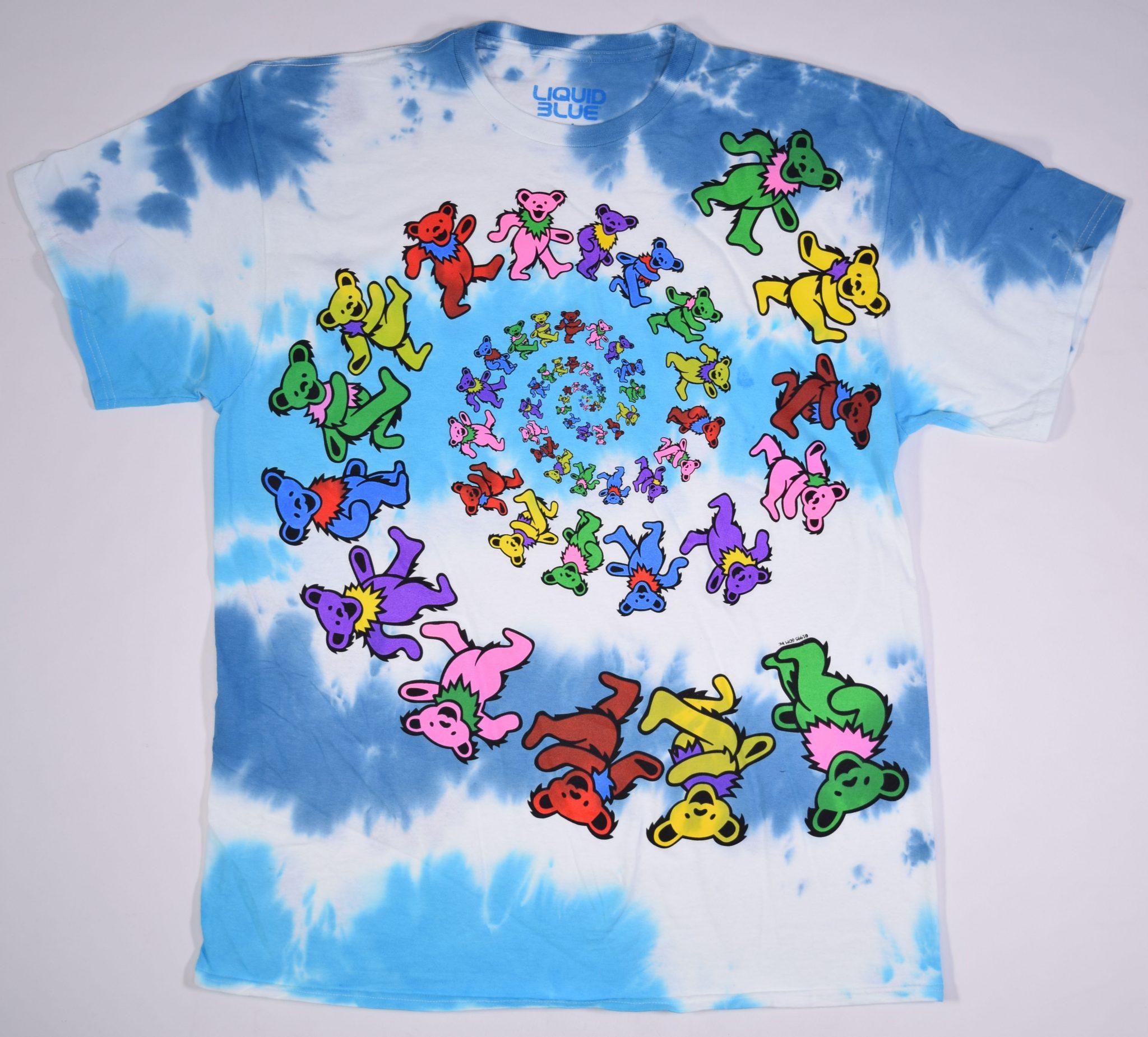 f9a3d1d248e Grateful Dead Spiral Bears Tie Dye T Shirt (2) – Have to Have It Co