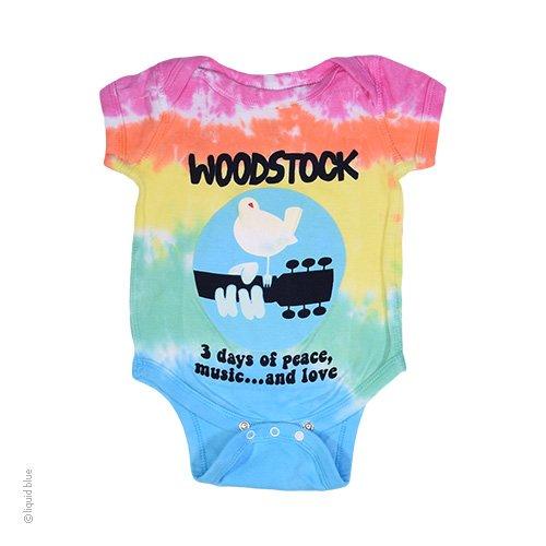 de0d5ead4 Woodstock Music Festival 3 Days Of Peace, Love & Music Baby Onesie ...